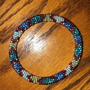 ⭐️NWOT Lily and Laura handmade beaded bracelet